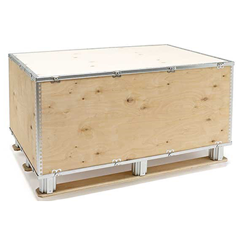 Export Packaging - Plywood boxes by Nefab