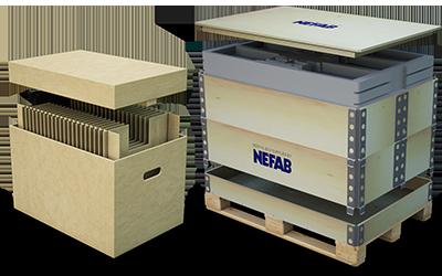 Transport Packaging | Nefab Group
