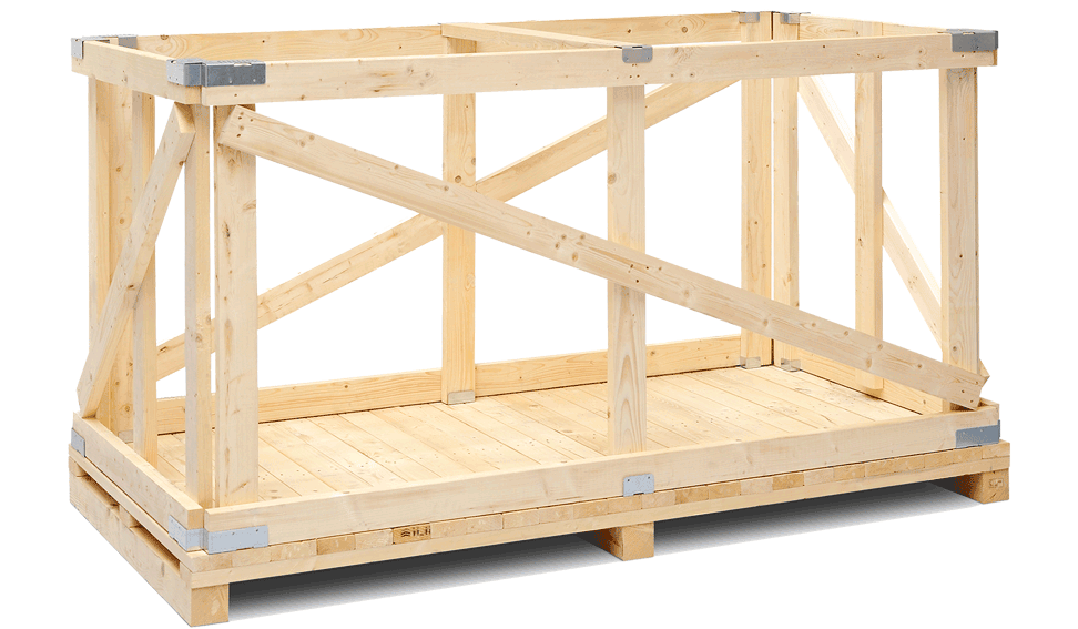 Optimized Wooden Crates