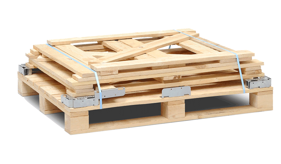 A modular wooden crate for many applications