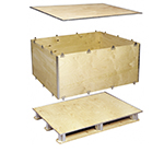 Foldable Plywood Boxes ExPak-P