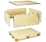 Foldable Plywood Boxes ExPak-S