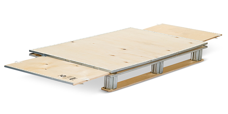 Foldable Plywood Boxes ExPak