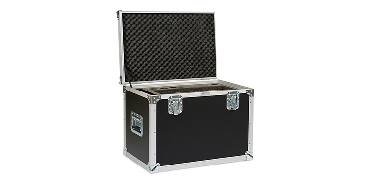 Flightcase Black Open