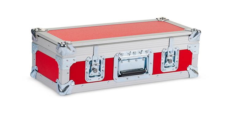 Flightcase Red Closed
