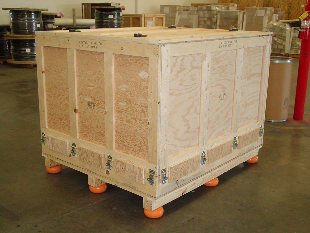 Large Kitchen Storage Cabinets Wood Crates Expendable Packaging Nefab North America