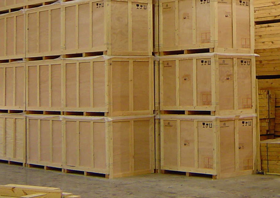 Nefab Custom Wooden Crates