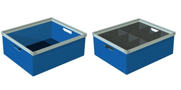 Cajas de pl stico acanalado para embalaje - Cajas de polipropileno ...