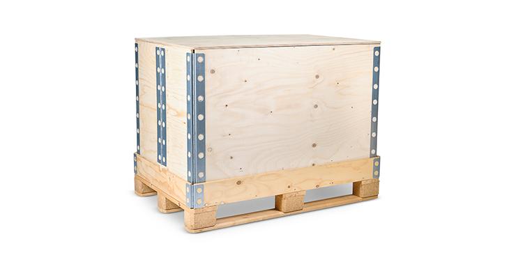 embalaje de madera para transporte